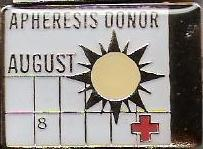 Apheresis Donor August (2007) Pin