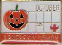 Apheresis Donor October (2007) Pin