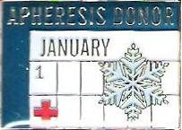 Platelet Donor January (2007) Pin