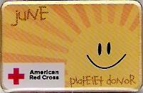 Platelet Donor June (2008) Pin