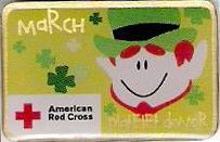 Platelet Donor March (2008) Pin