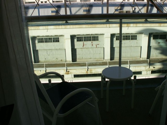 In port at Boston