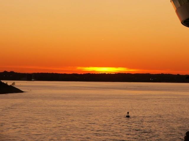 Ooo, sunset